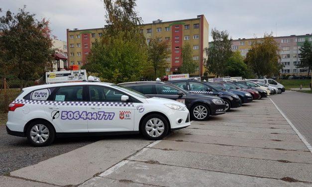 Taxi w Brzegu