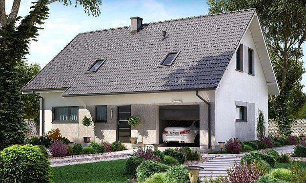Projekt domu KA16 komfortowo wydzielone strefy